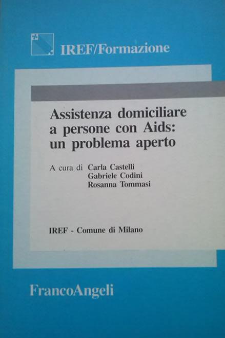 La persona con Aids e il suo contesto di vita, 1992