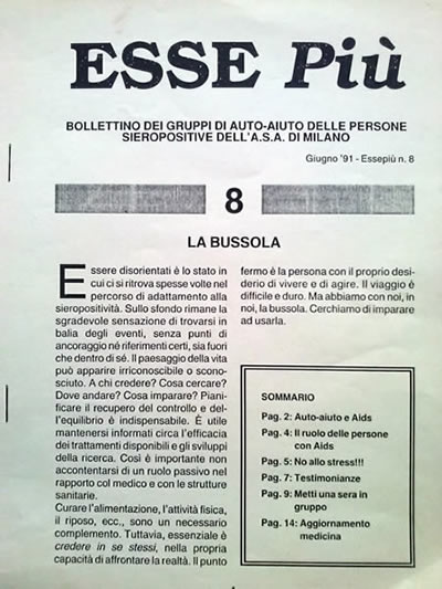 La bussola, Esse più N°8, 1991