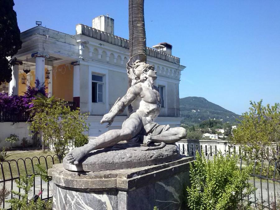 Achille a Corfu